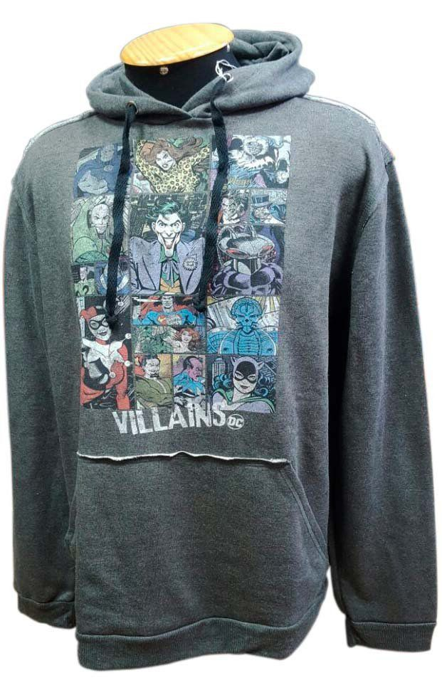 Moletom DC Comics Vilões (Villains)