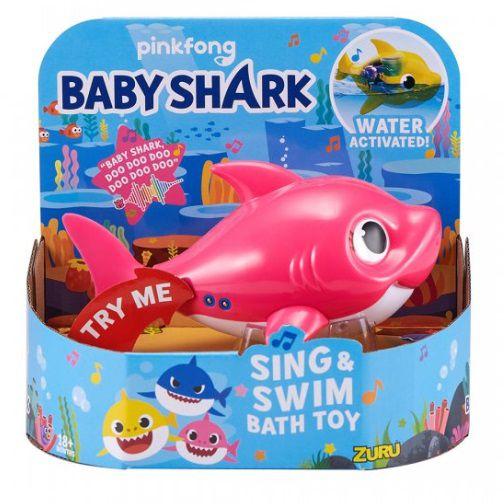 Mommy Shark: Baby Shark Canta e Nada (Rosa) Pinkfong - Candide