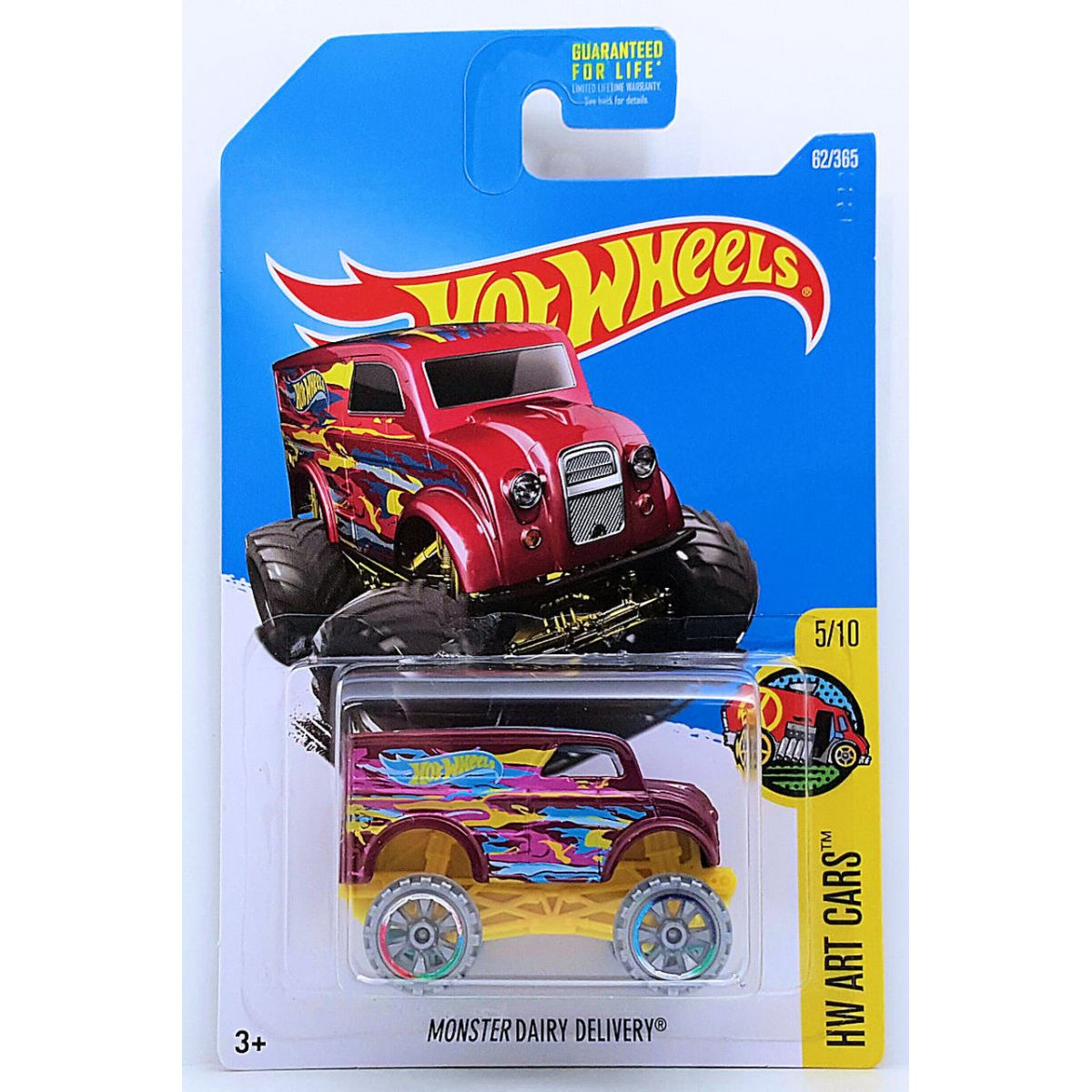 Monster Dairy Delivery Vermelho - Hot Wheels