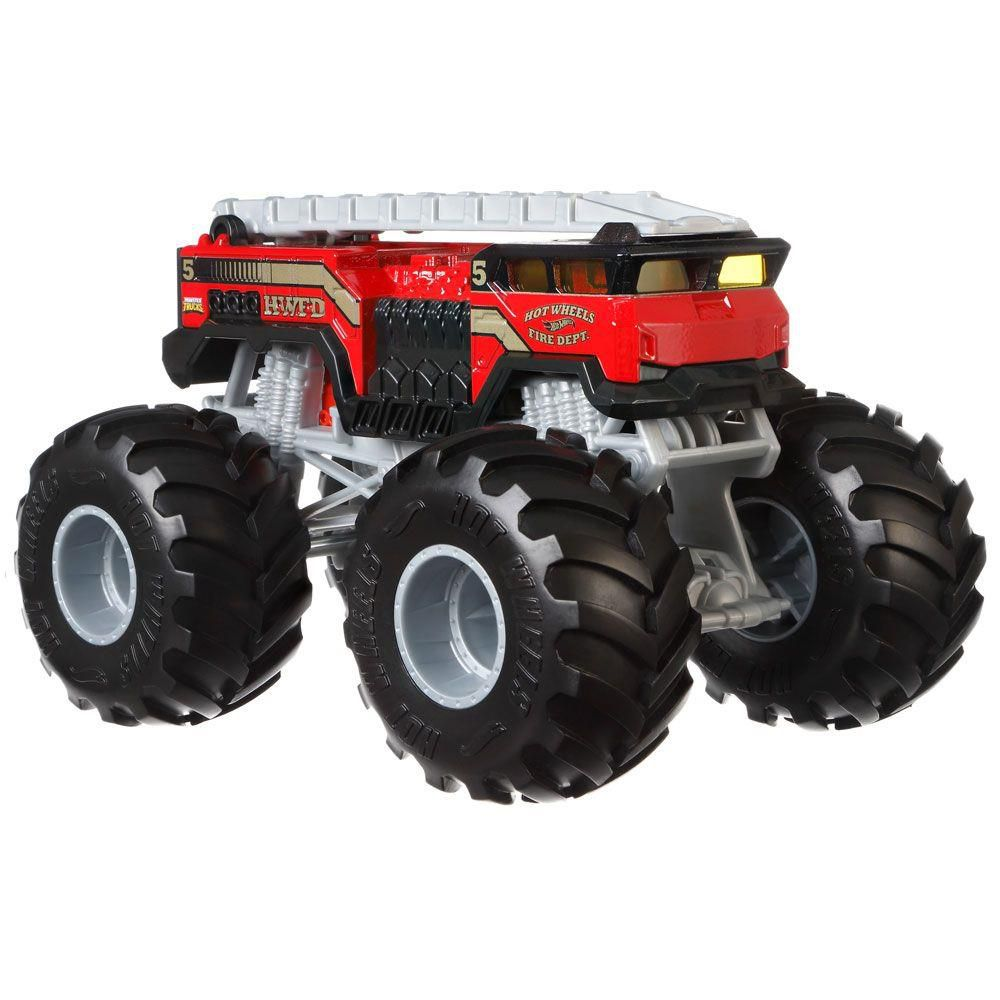 Monster Trucks Hot Wheels: 5 Alarm (1/24) - Mattel