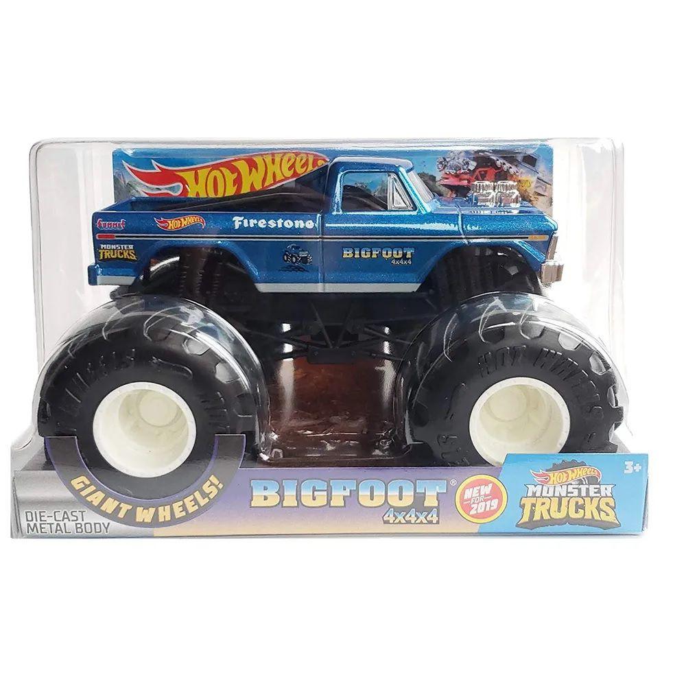 Monster Trucks Hot Wheels: Bigfoot (1/24) - Mattel