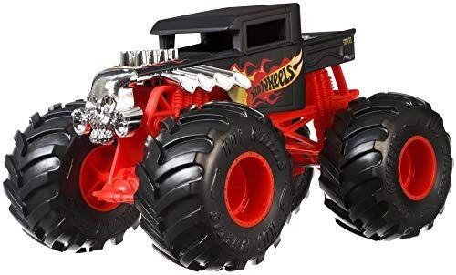 Monster Trucks Hot Wheels: Bone Shaker (1/24) - Mattel