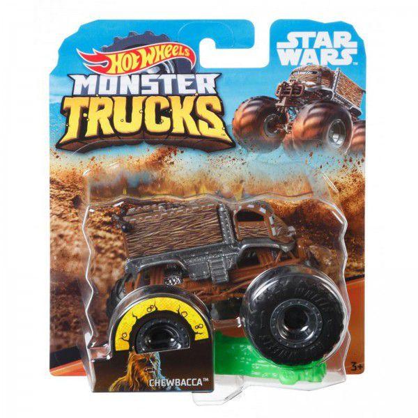 Monster Trucks Hot Wheels: Chewbacca (1/64) - Mattel