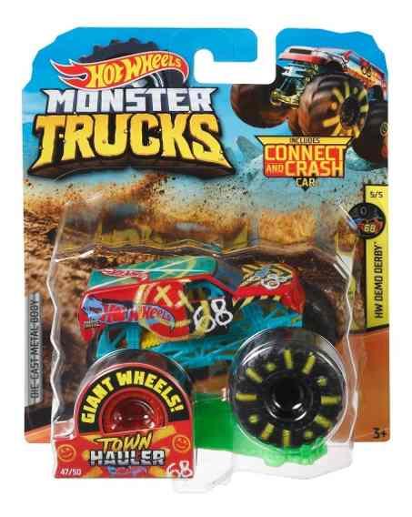 Monster Trucks Hot Wheels: Demo Derby (1/64) - Mattel