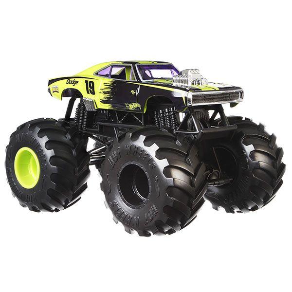 Monster Trucks Hot Wheels: Dodge Charger R/T (1/24) - Mattel
