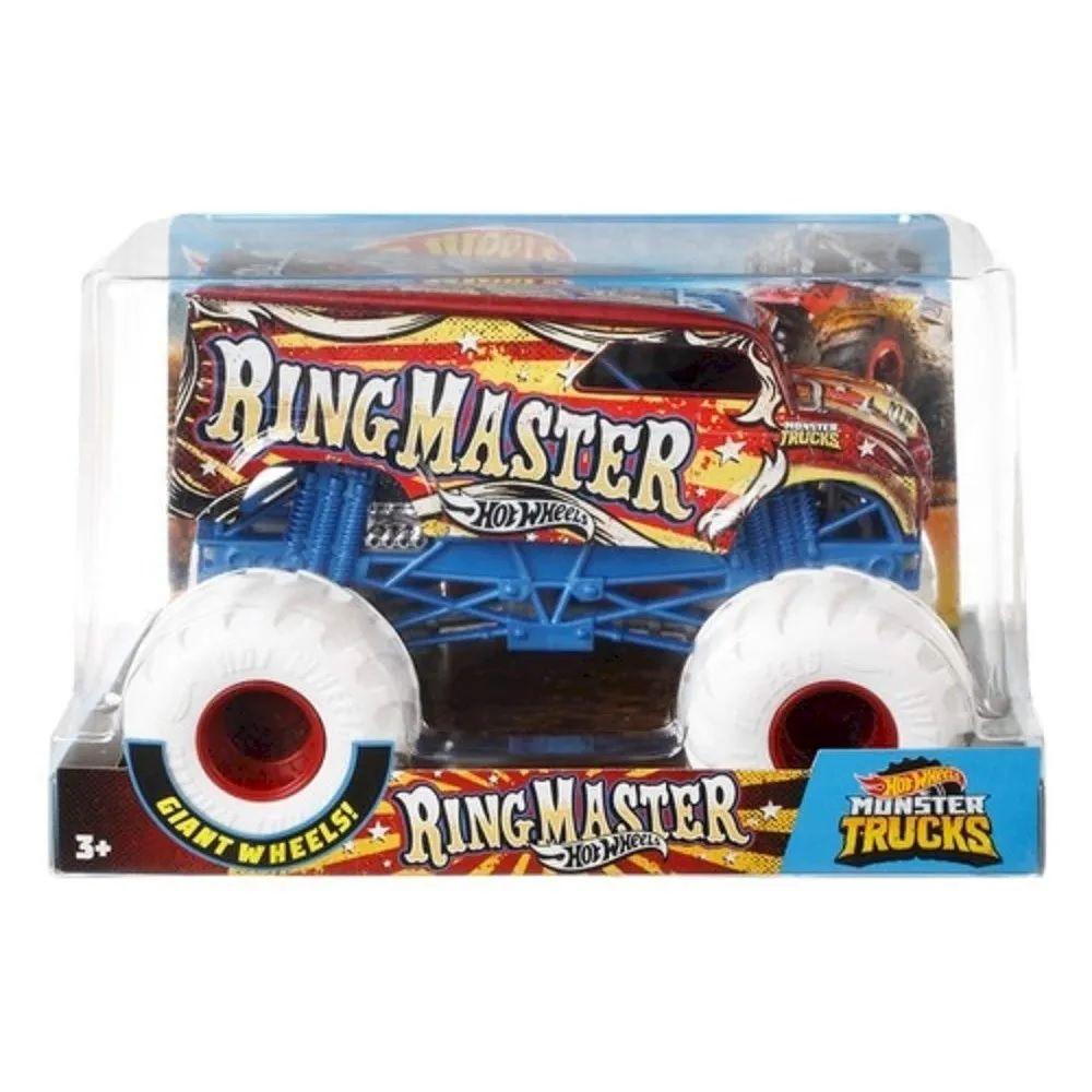 Monster Trucks Hot Wheels: Ring Master (1/24) - Mattel