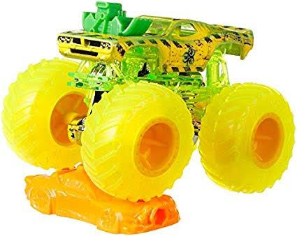 Monster Trucks Hot Wheels: Rodger Dodger (1/64) - Mattel