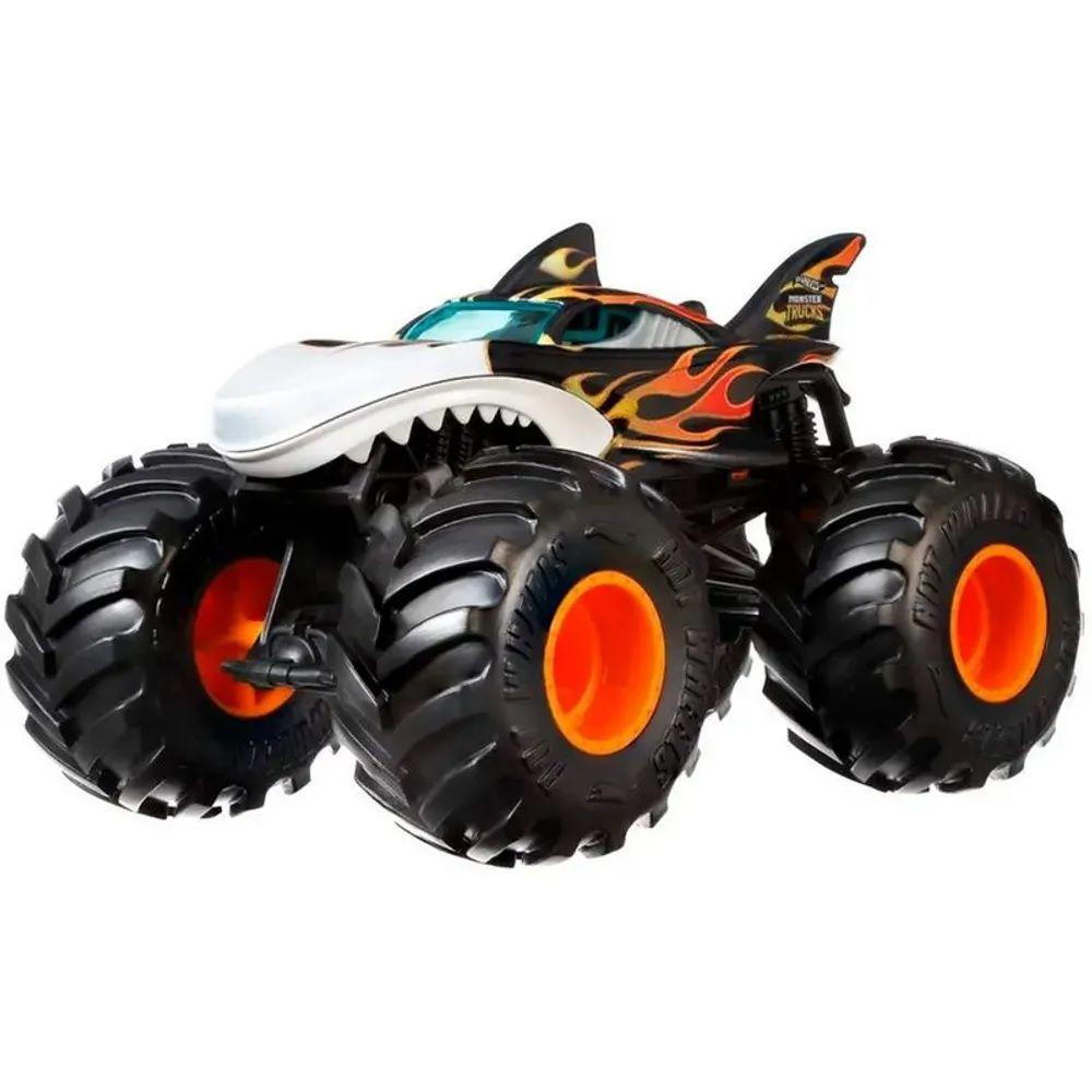 Monster Trucks Hot Wheels: Shark Wreak (1/24) - Mattel