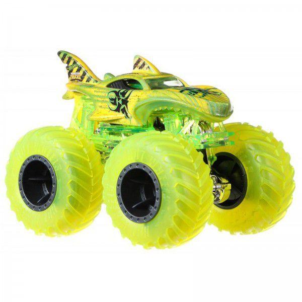 Monster Trucks Hot Wheels: Shark Wreak  (1/64) - Mattel