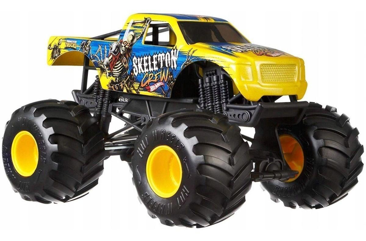 Monster Trucks Hot Wheels: Skeleton Crew (1/24) - Mattel