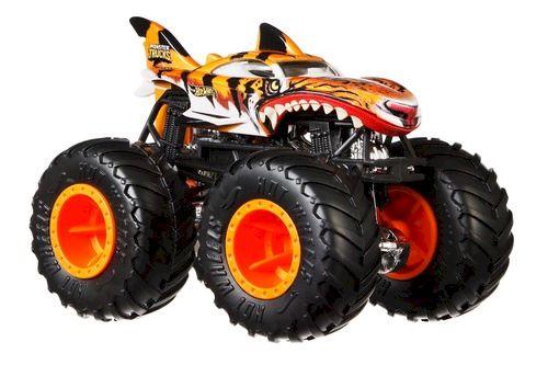 Monster Trucks Hot Wheels: Tiger Shark (1/24) - Mattel
