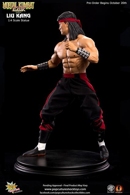 Estátua Liu Kang: Mortal Kombat (Escala 1/4) - Pop Culture Shock