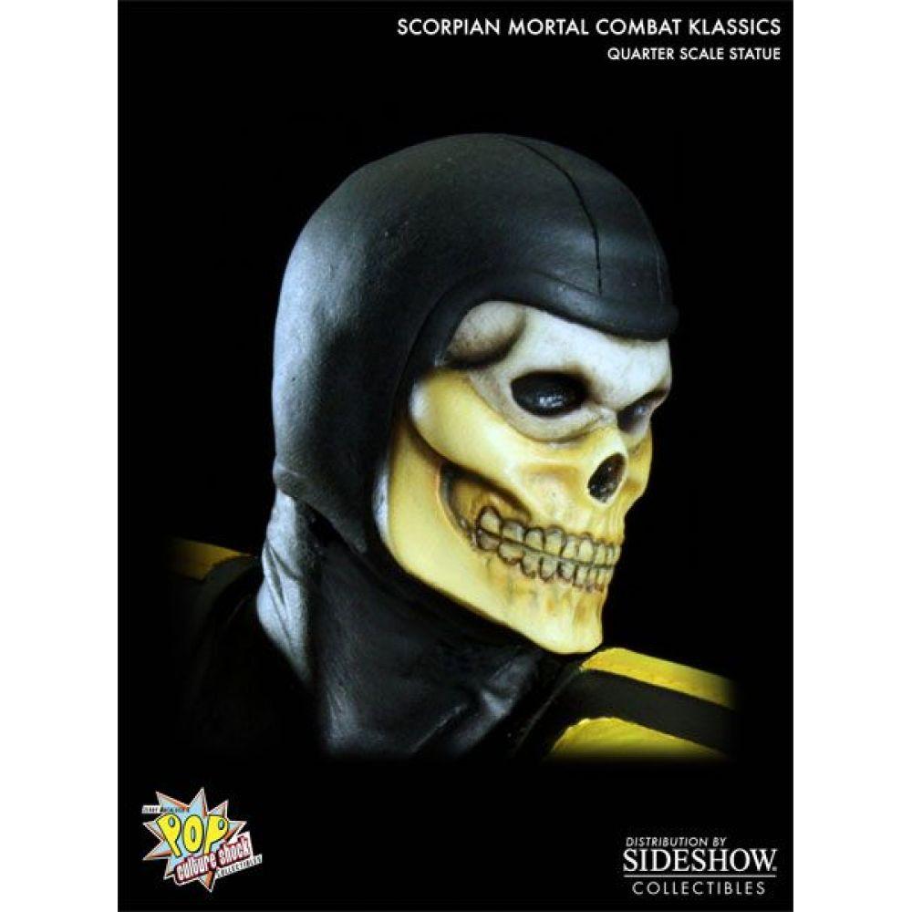 Mortal Kombat Scorpion Klassics Statue 1:4 - Pop Culture Shok (Produto Exposto)