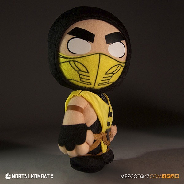 Mortal Kombat Scorpion Pelucia - Mezco