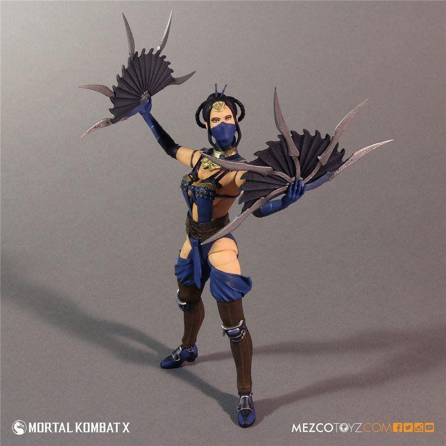 Mortal Kombat X: Kitana Mournful - Mezco