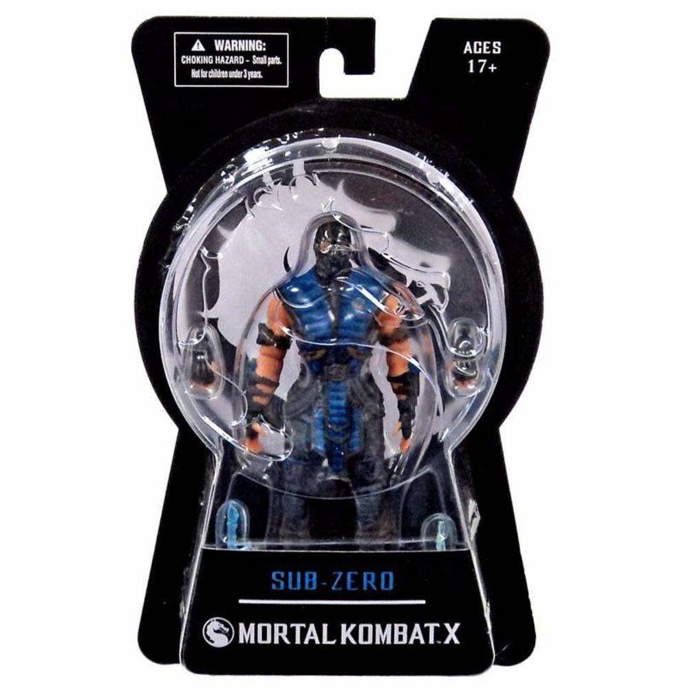 Boneco Sub-Zero: Mortal Kombat X - Mezco