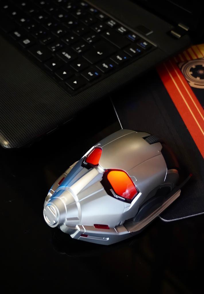 Mouse Sem Fio Gamer Homem Formiga: Guerra Infinita Marvel - EVALI