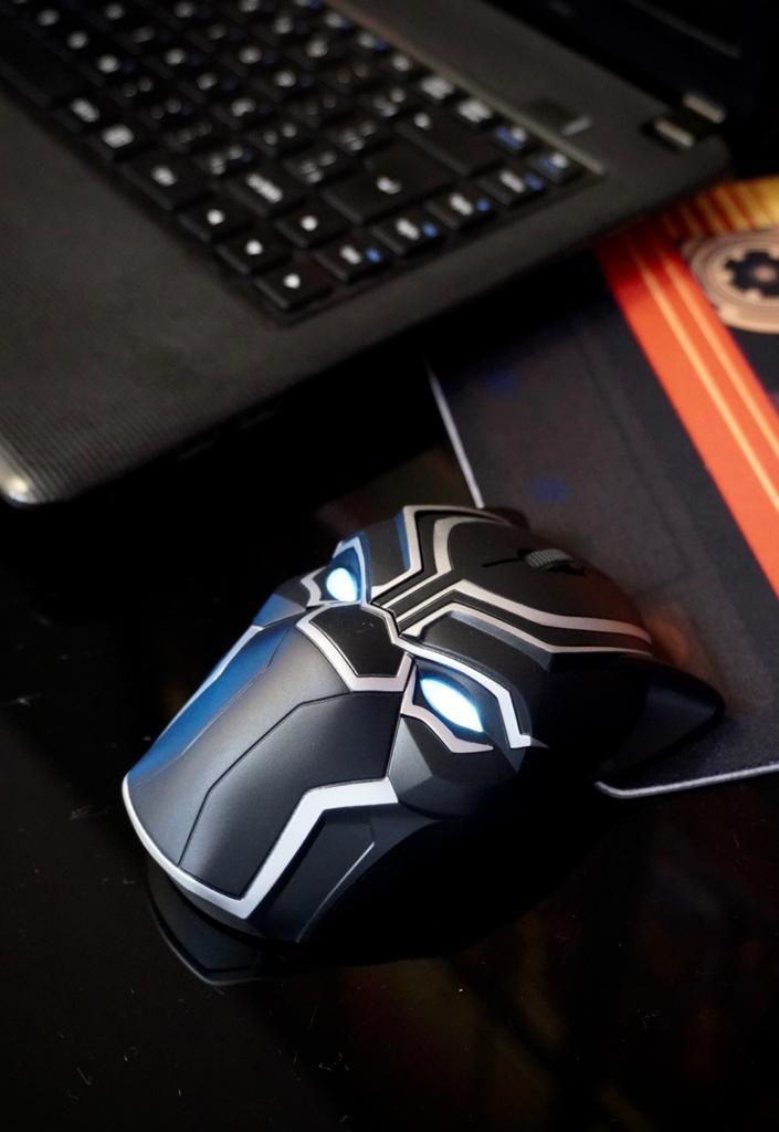 Mouse Sem Fio Pantera Negra: Guerra Infinita Marvel - EVALI