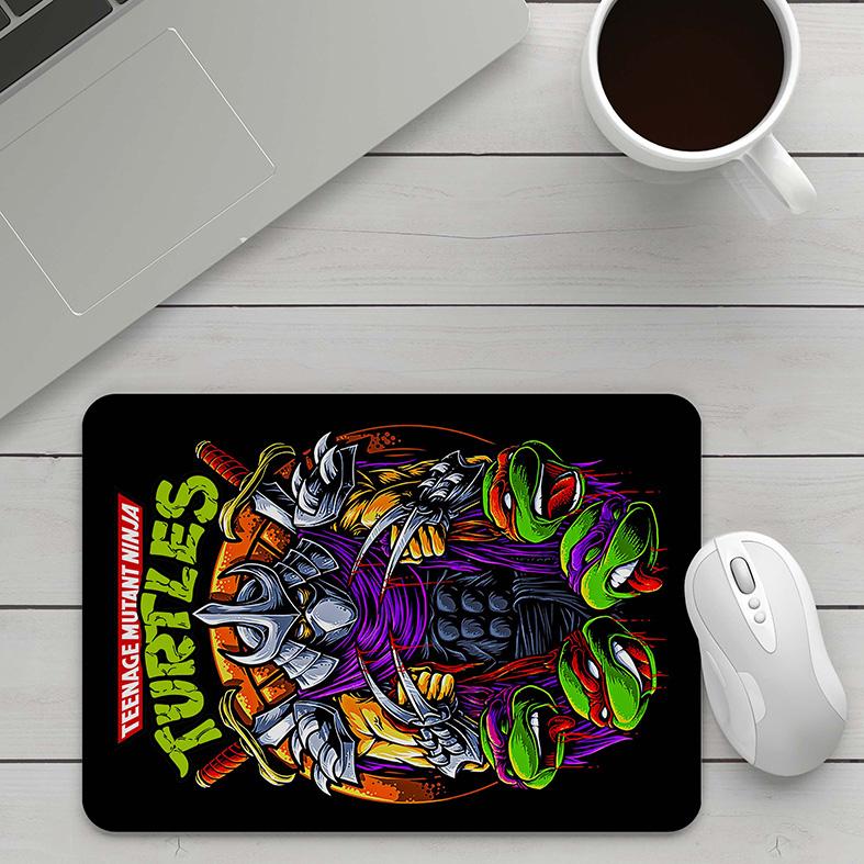 Mousepad As Tartarugas Ninjas Destruidor Teenage Mutant Ninja Turtles - EV