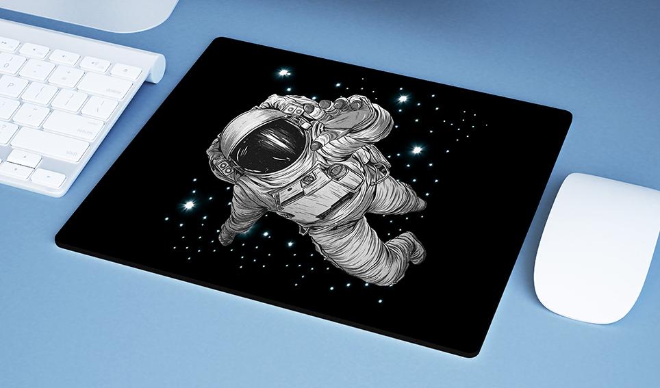 Mousepad Astronauts Space Nasa Astronauta - EV