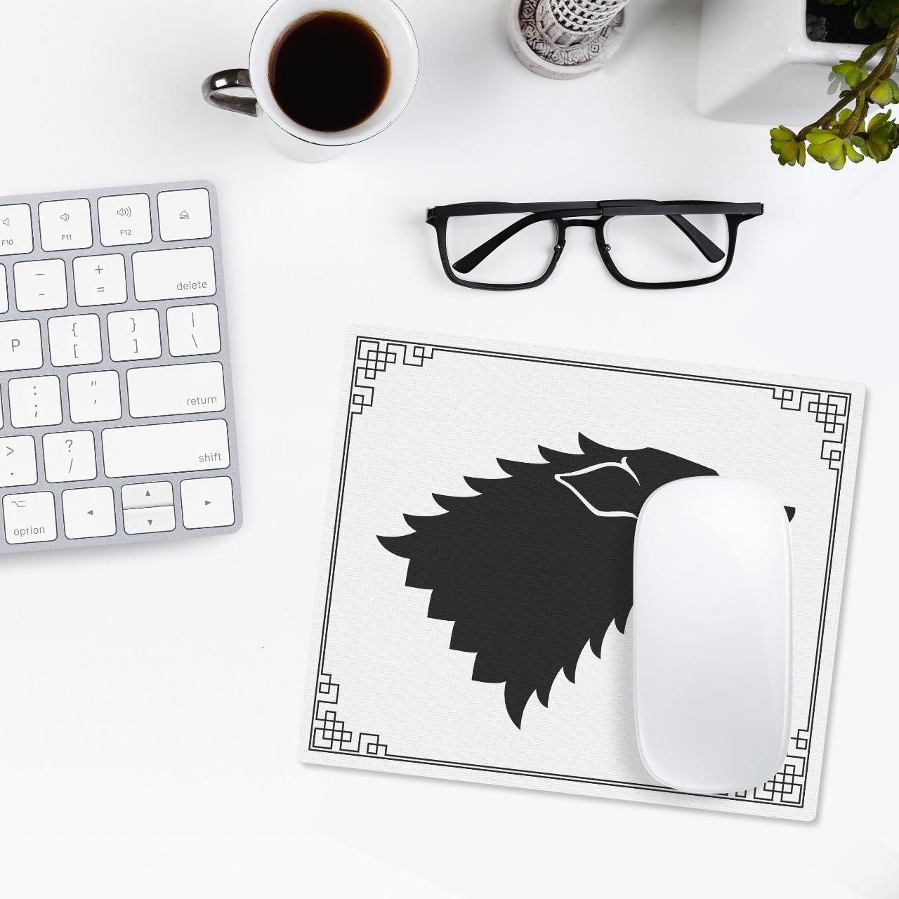 Mousepad: Guerra Dos Tronos Game Of Thrones Casa Stark