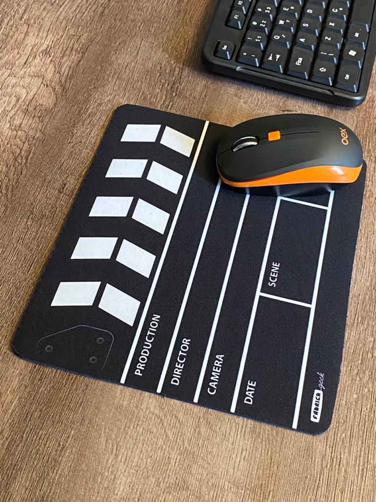Mousepad Claquete - Mouse pad