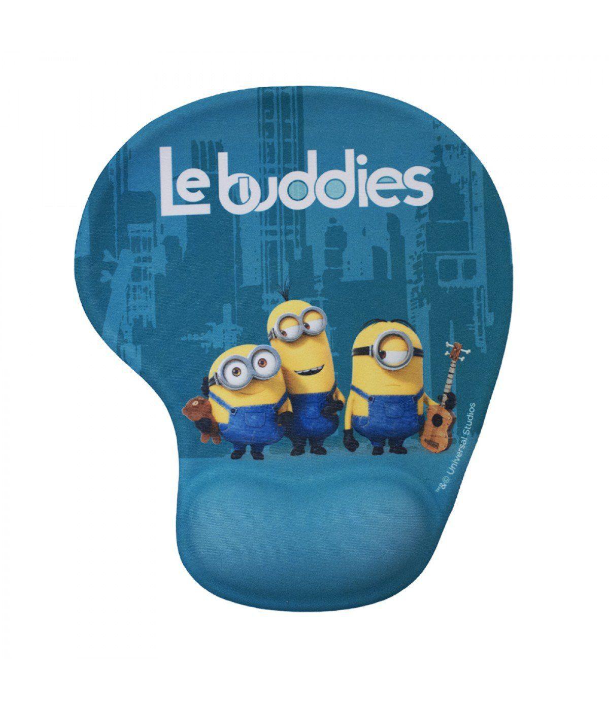 Mousepad Com Apoio Em Gel Minions (Le Buddies): Meu Malvado Favorito