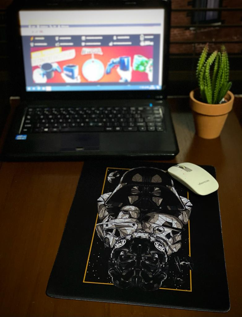Mousepad Darth Vader e os Troopers Império: Star Wars