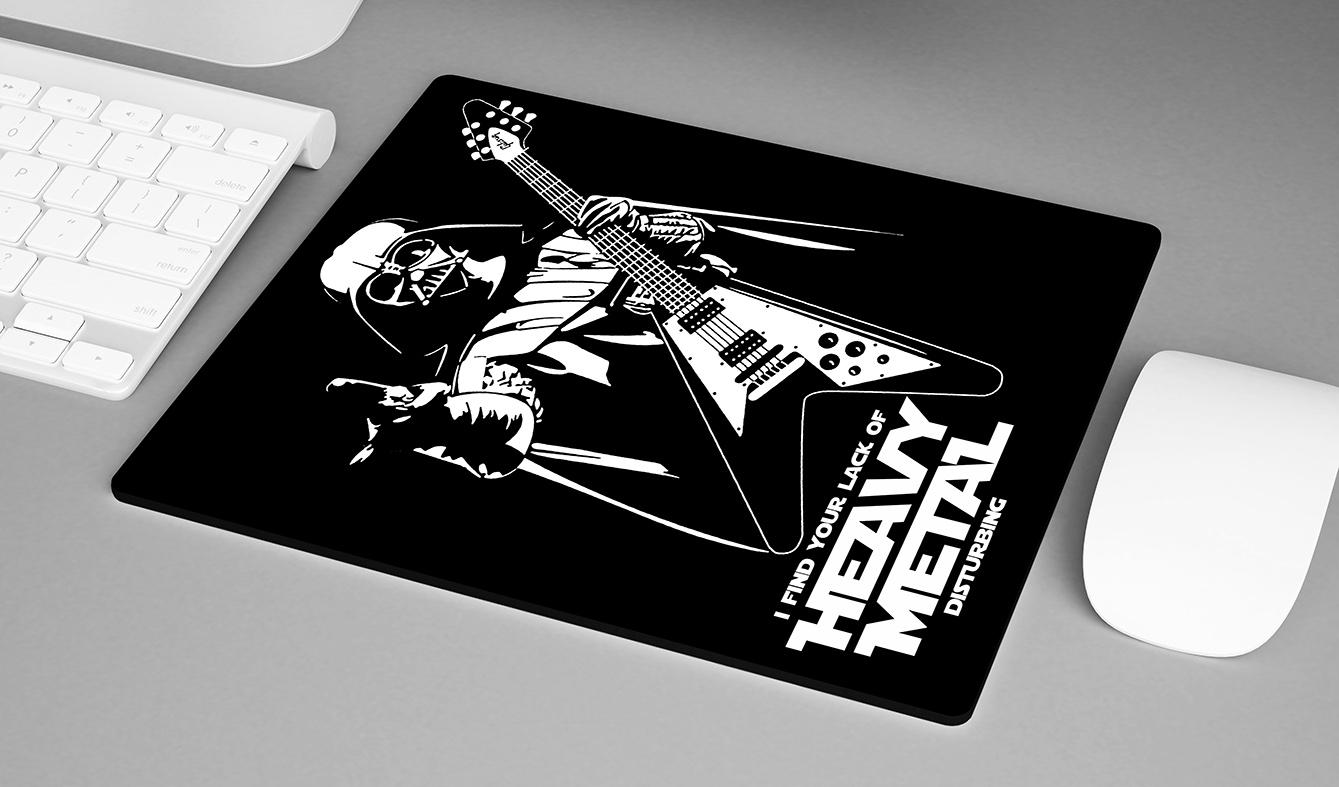 Mousepad Darth Vader I Find Your Lack Of Heavy Metal Disturbing: Star Wars - EV