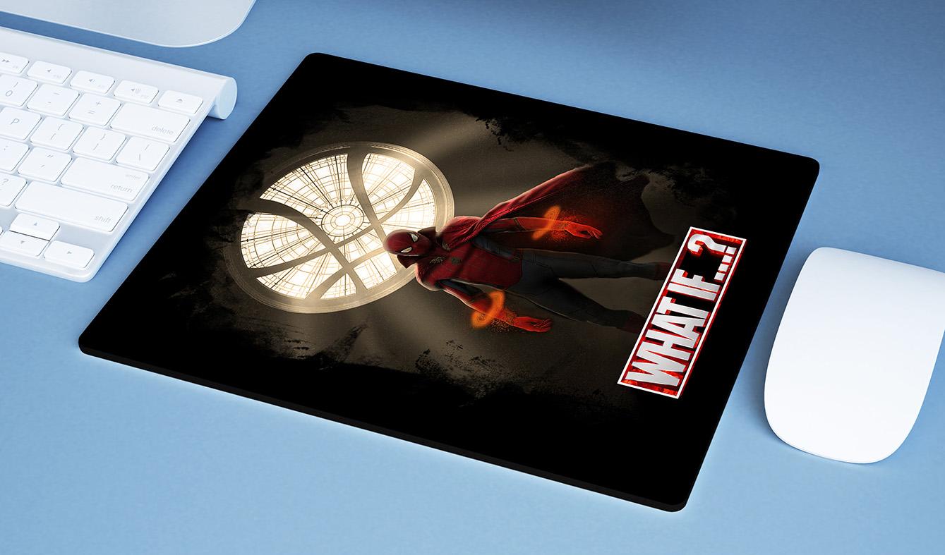 Mousepad E Se...? Homem Aranha Doutor Estranho Spider Man Doctor Strange What If...? Marvel Studios Disney+ - EV
