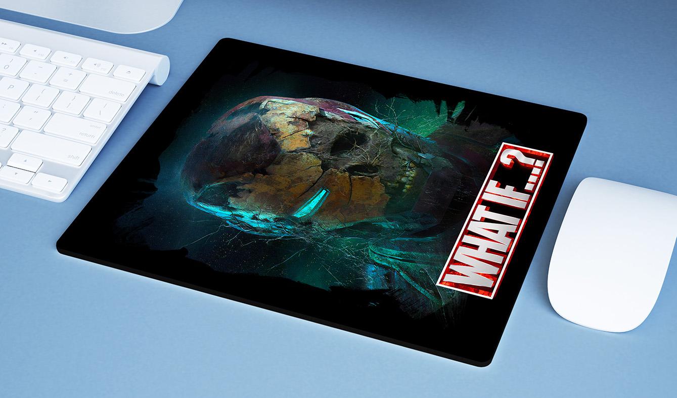 Mousepad E Se...? Homem De Ferro Zumbi Iron Man What If...? Marvel Studios Disney+ - EV