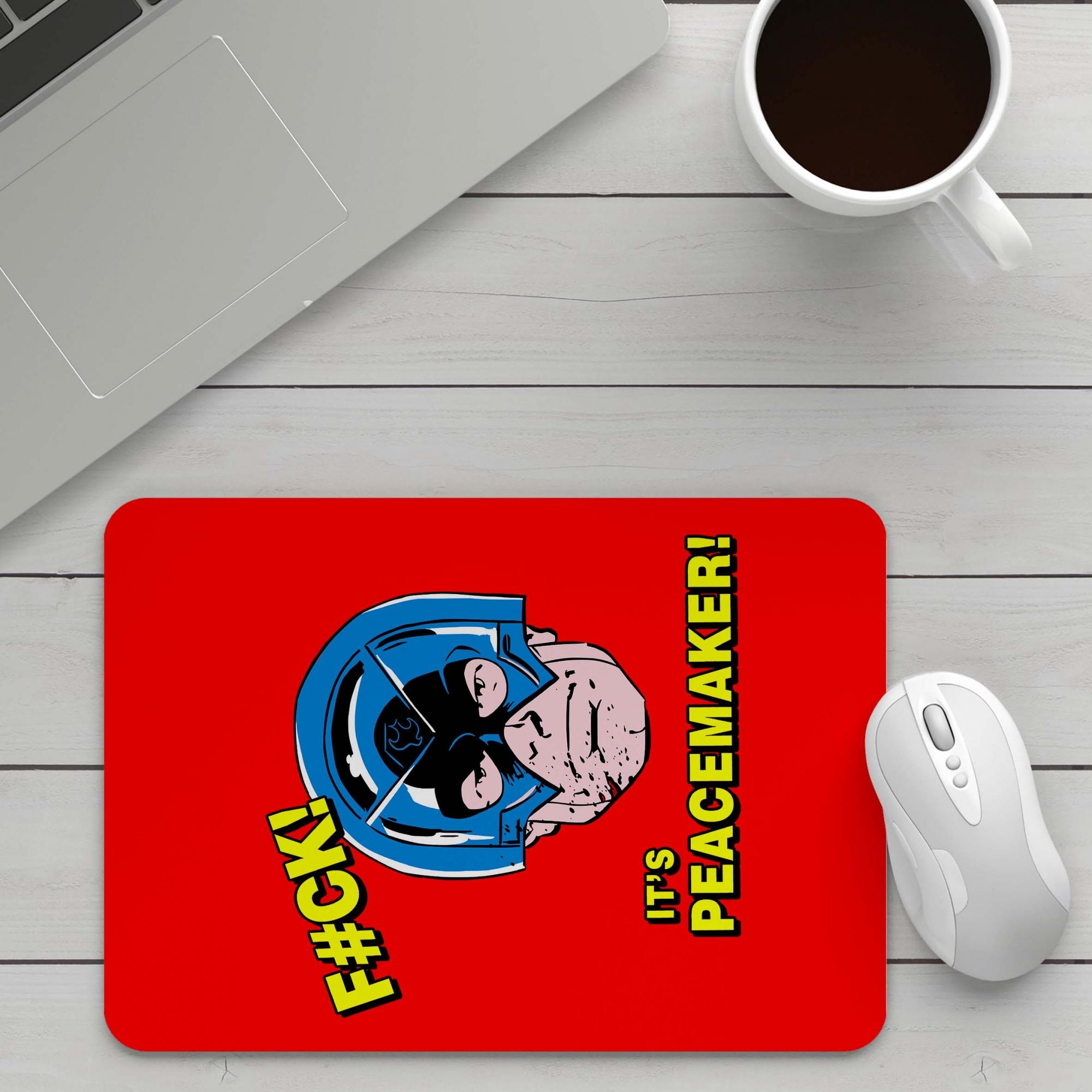 Mousepad Foda-Se Pacificador Fuck It's Peacemaker O Esquadrão Suicida The Suicide Squad DC Comics - EV