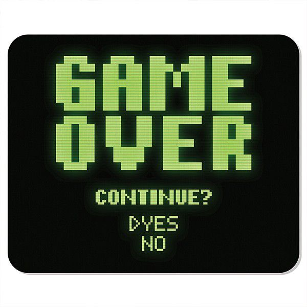 Mousepad Game Over - Mouse pad