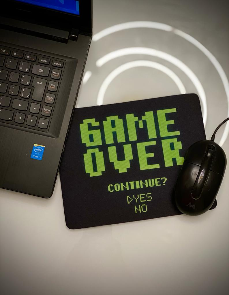 Mousepad Game Over - Mouse Pad - EV