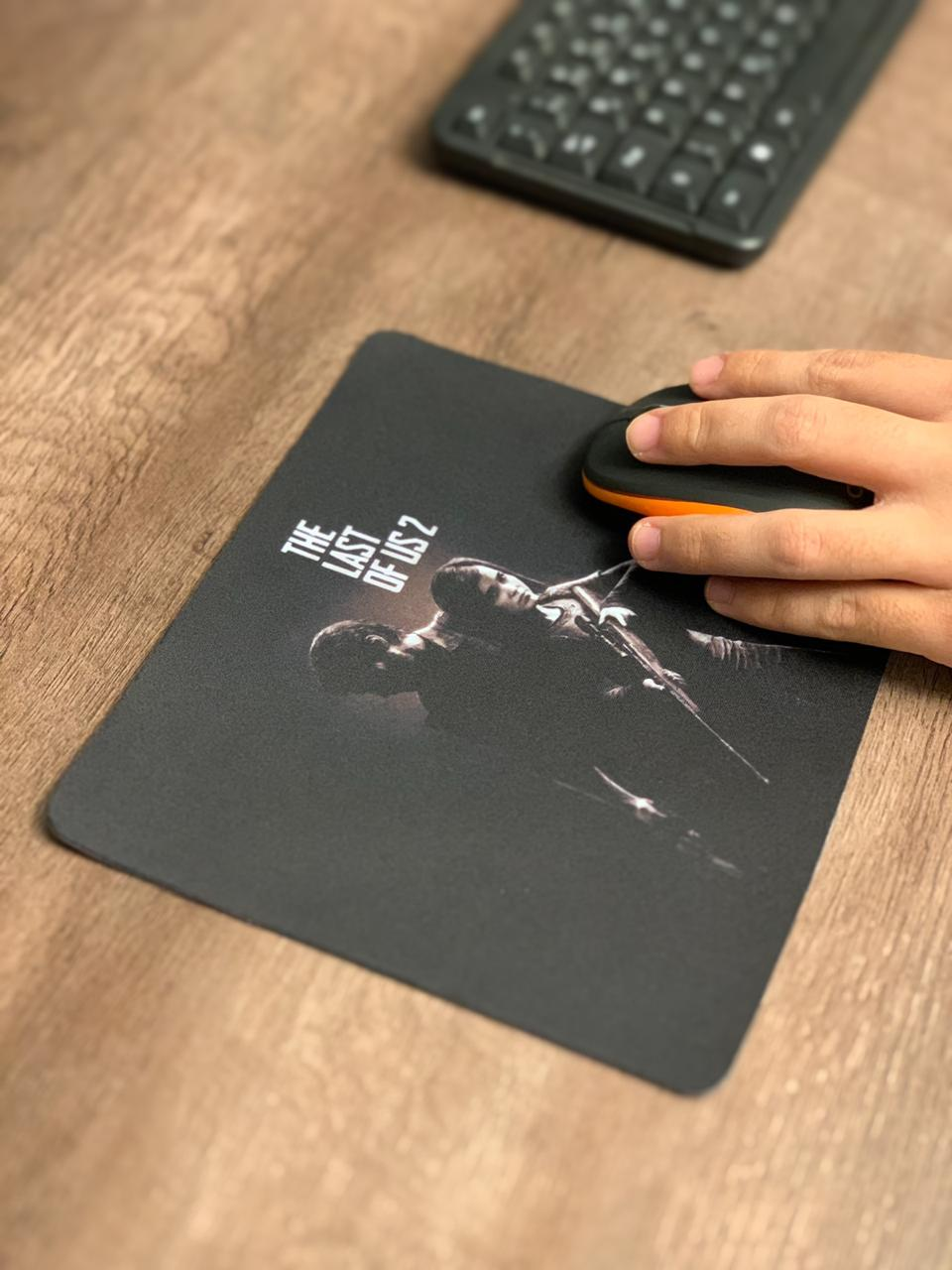 Mousepad Gamer: The Last Of Us 2 (Preto) - Mouse pad