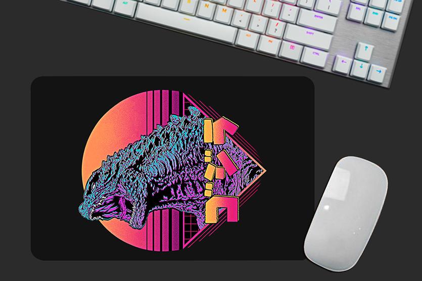 Mousepad Godzilla Retro Monster - EV