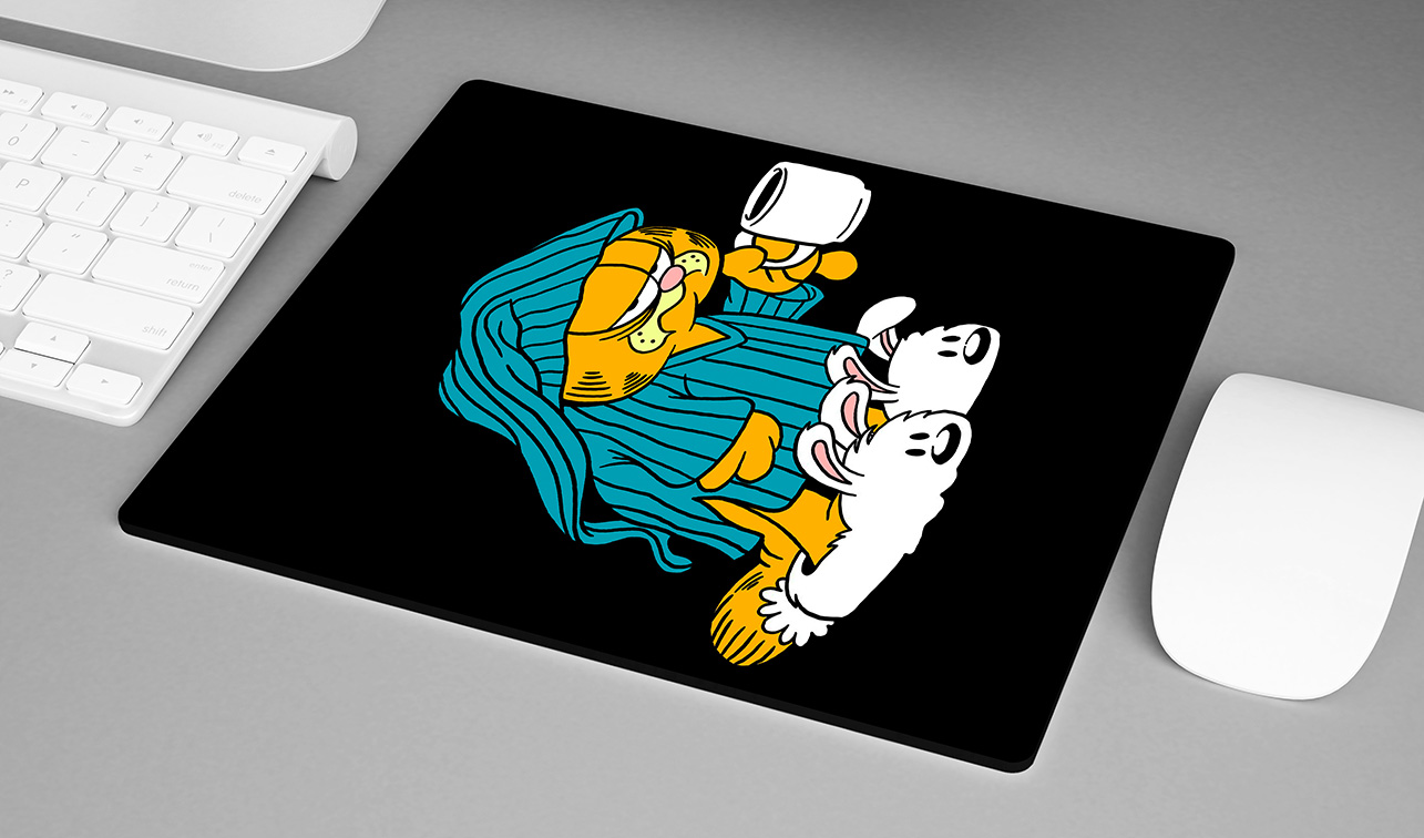 Mousepad Good Morning Coffee: Garfield - EV