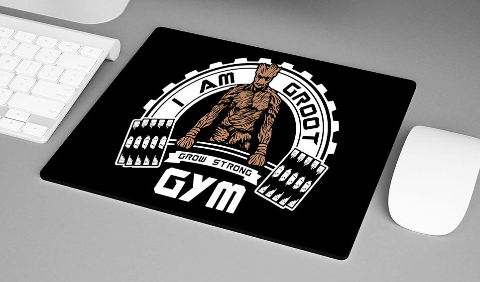 Mousepad I Am Groot GYM Grow Strong - EV