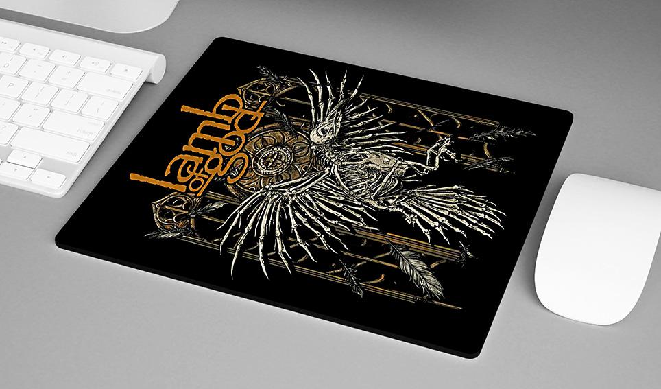 Mousepad Lamb Of God Heavy Metal - EV