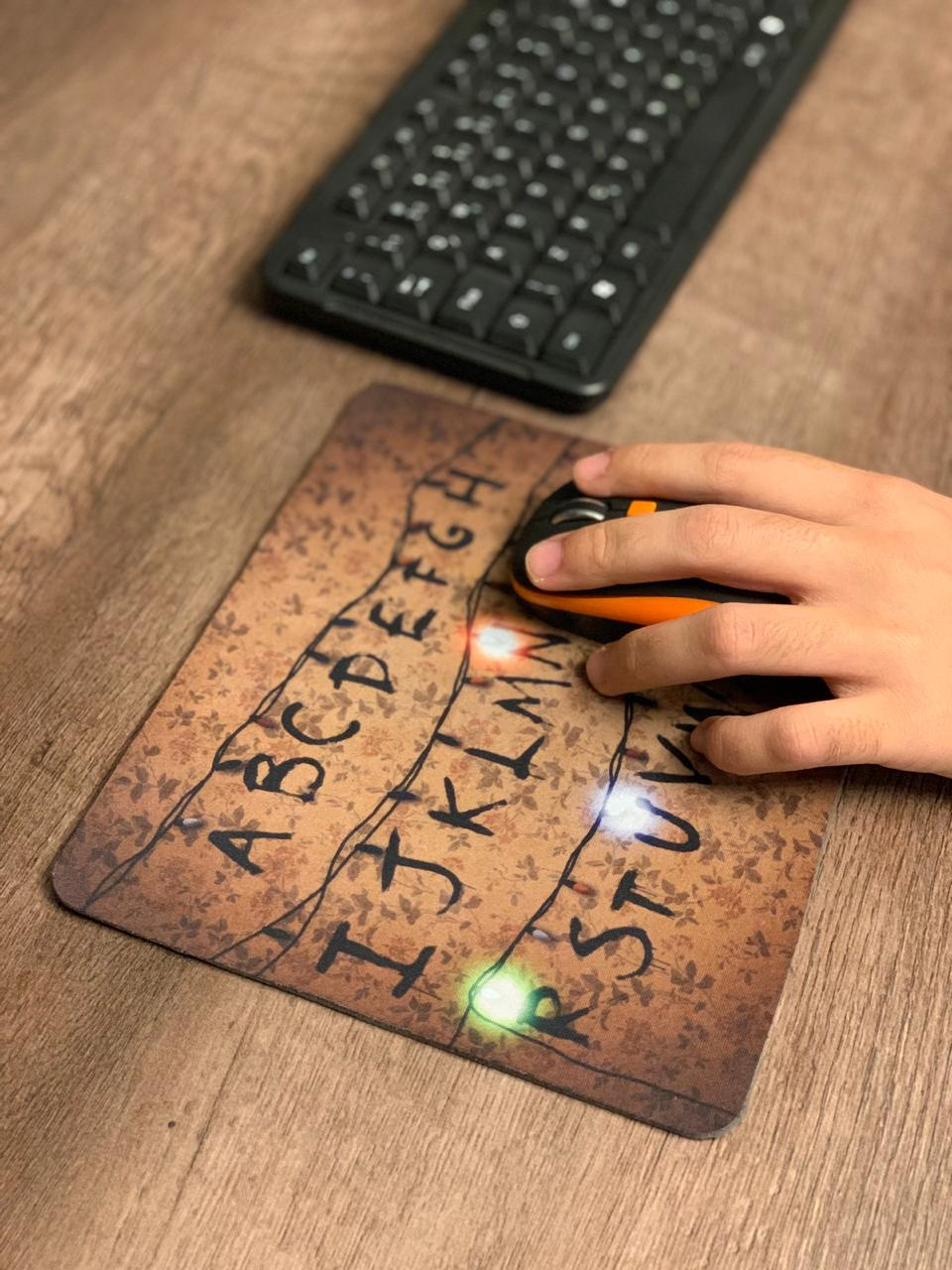 Mousepad Lights - Stranger Things - Mouse pad