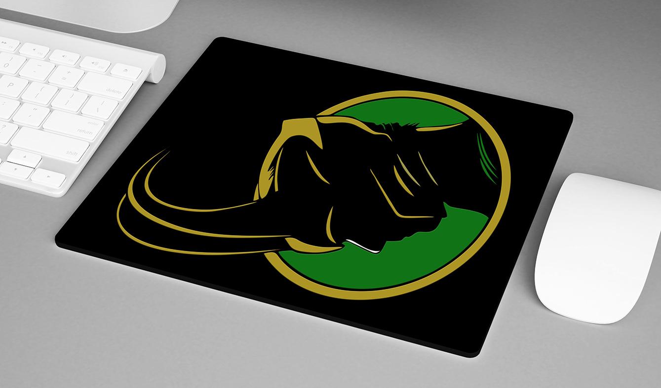 Mousepad Loki Villain Marvel Studios Avengers Disney+ - EV