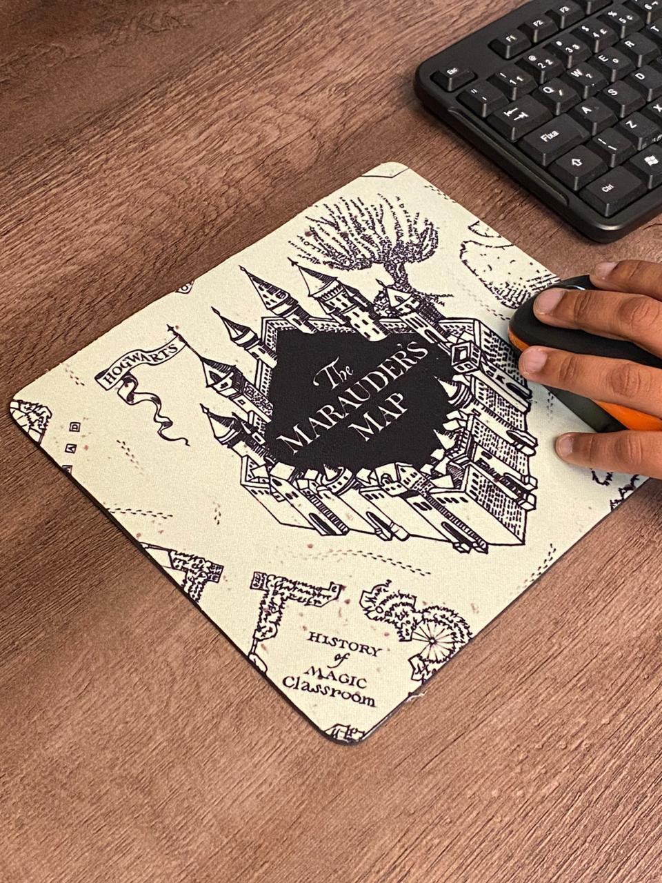 Mousepad: Mapa do Maroto: Harry Potter - Mouse pad