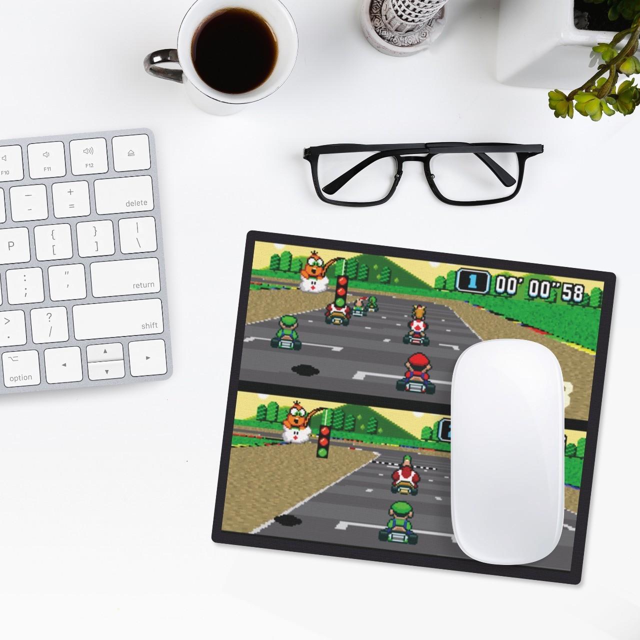 Mousepad: MarioKart: 2 Players - Mouse pad