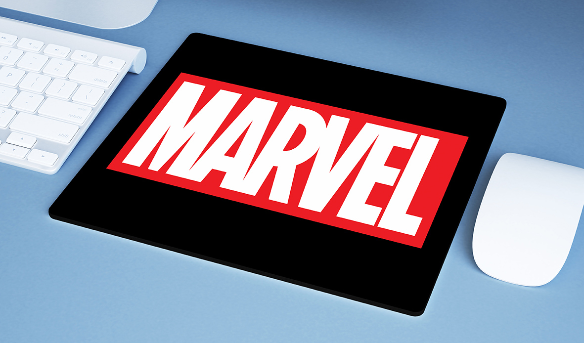 Mousepad Marvel Studios Logo - EV