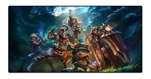 Mousepad (Mause Pad): Personagens - league Of Legends
