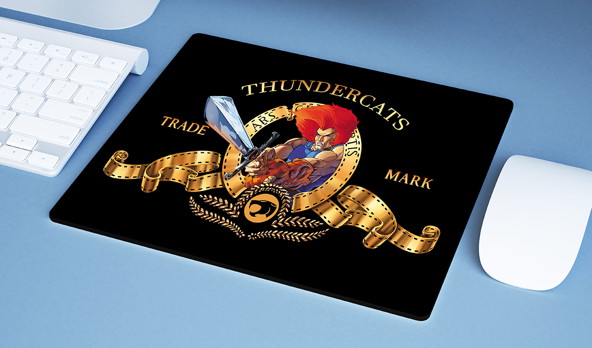 Mousepad Metro Goldwyn Mayer Lion Thundercats Espada Justiceira - EV