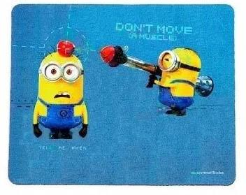 Mousepad Minions (Don´t Move a Muscle): Meu Malvado Favorito