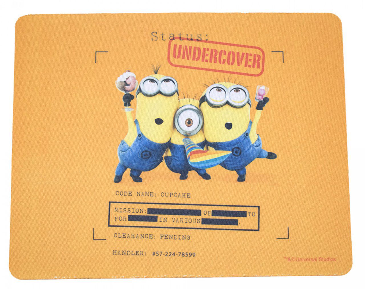 Mousepad Minions (Undercover): Meu Malvado Favorito