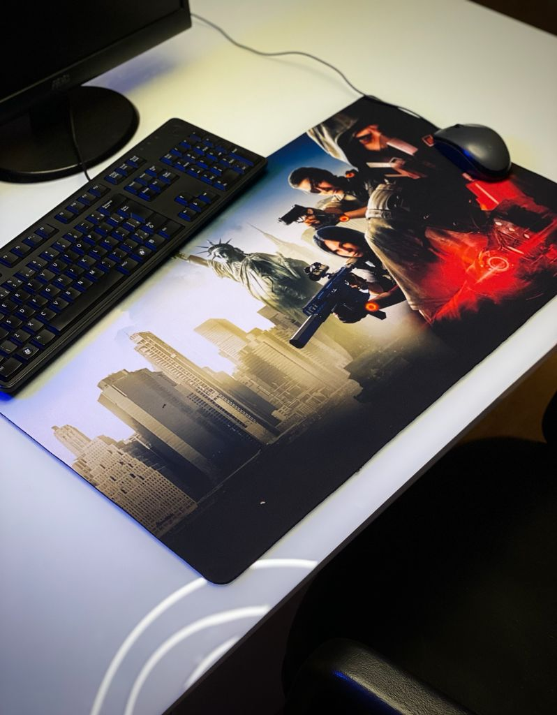 Mousepad Mouse Pad Gamer Grande The Division 2 Warlords Of New York