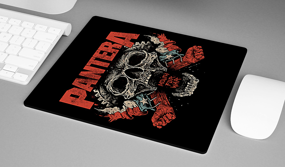 Mousepad Mouth For War Rock And Roll: Pantera - EV